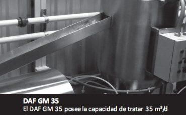 Diseño y construcción de Clarificadores por aire disuelto (DAF)